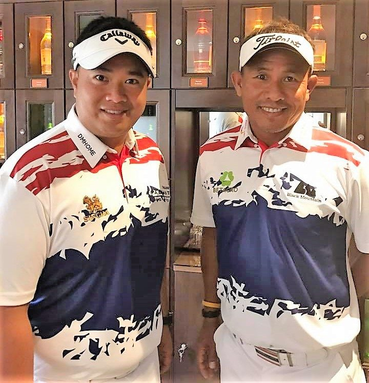 Thongchai and Kiradech
